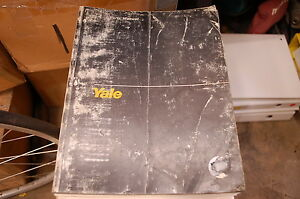 Yale Model Mlw Mpw Mle Mpe mpc 4000 6000 8000 Lbs Forklift Parts Manual Book