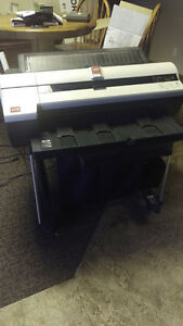 Oce Cs2124 24inch Wide Format A1 Large format Inkjet Colour Cad Printer