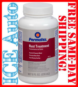 3 day Sale Permatex 81775 Rust Treatment Use To Destroy Old Rust Prevent 8 Oz