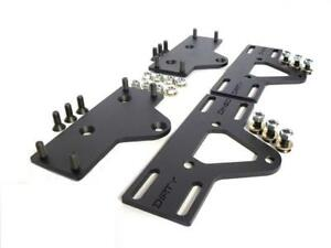 Dirty Dingo Adjustable Motor Mount Plates Chevy Small Block Big Block 3 Travel