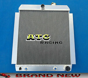 For 1948 1954 Chevy Truck Pickup At Mt 1949 1950 1951 52 53 54 Aluminum Radiator