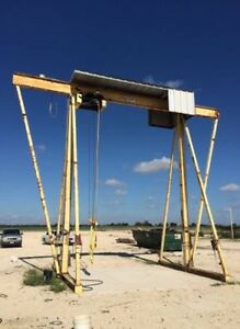 Mch Electric Rail Hoist Gantry Crane 10 000 Pound 5ton Overhead Lift