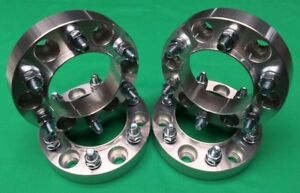 4pcs Ford 1 5 Wheel Spacers 6x135 14x2 Studs Fits F150 Raptor 2006 To 2014