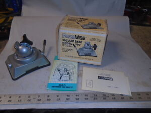 Machinist Lathe Mill Machinist Pana Vise 380 Base New In Box For Hobby