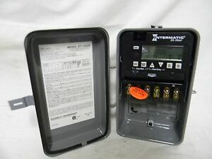 Intermatic 24 hour Electronic Timer Switch et1125cr
