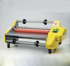 17 5 A2 Hot Roll Pouch Laminator Four Roller Laminating Machine For 442mm Paper