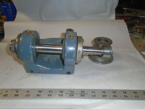 Machinist Lathe Mill Machinist Small Jewelers Lathe Head Stock Schaublin