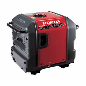 Honda Generator Eu3000i Eu3000 Watt Portable Quiet Inverter Parallel Gas Power