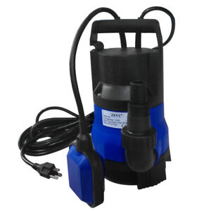 400w Submersible Dirty Clean Water Pump 1 2 Hp Flooding Pond Swimming Pool Flood
