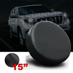 Black 15 Inch Wheel Spare Tire Cover For Honda Crv Size M Hot Sale