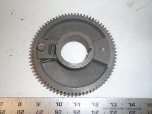 Machinist Tools Lathe Mill South Bend Head Stock Bull Gear 1 5 8 Center