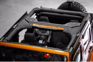 Roll Bar Cover Black For Jeep Wrangler Unlimited Jk 07 18 13613 01 Rugged Ridge