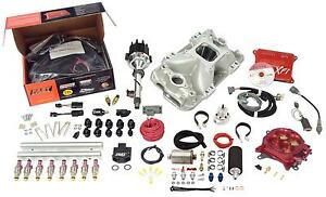 Fast Xfi 3012350 05 Small Block Chevy Sbc Multi Port Efi Fuel Injection Kit