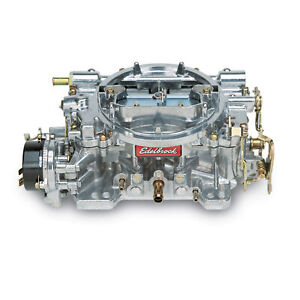 Edelbrock 1411 Carburetor 750 Cfm Electric Satin