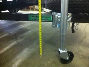 Trailer Tongue Jack 1500lb Bolt on Swing away