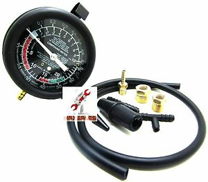 Fuel Pump Vacuum Gauge Tester Pressure Test New Auto Mechanic Tester Repair Hd