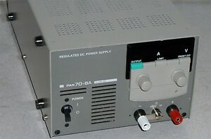 Kikusui Pan70 8a Dc Power Supply 0 70v 0 8a