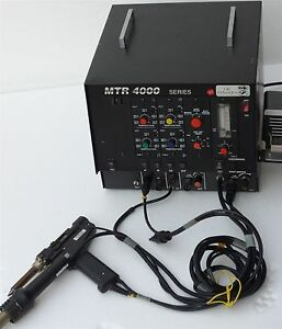 Ok Industries Mtr 4001 Mixed Technology Rework Soldering System
