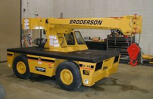 Broderson Ic80 3e Remanufactured Industrial Crane