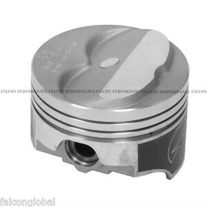 Speed Pro trw Chevy 350 5 7 Forged Dome Coated Pistons file Fit Rings 30 11 8 1