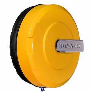 32 Hummer H3 Xtreme Tire Cover Color Matched Yellow