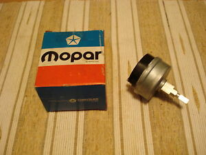 Nos Mopar 1965 Satellite Belvedere Coronet Variable Speed Wiper Switch Nib