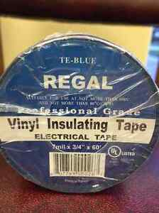Regal Pro Electrical Tape Blue Ul 3 4 x60 7 Mil 100 pack Fast Ship