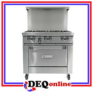 Garland U36 6r U Series 26 Gas Restaurant Range With 6 Open Burners