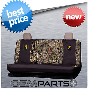Browning Full Size Rear Bench Seat Cover Universal Camouflage Truck Suv Buckmark