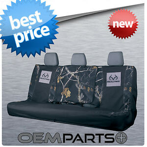 New Realtree Full Size Rear Bench Seat Cover Universal Camouflage Truck Suv 2017