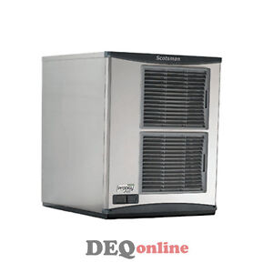 Scotsman F1222a 32 Flake Ice Machine makes Up To 1200 Lbs Air Cooled