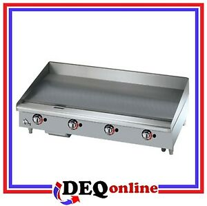 Star 648tspf Star max 48 Gas Griddle With Thermostatic Controls