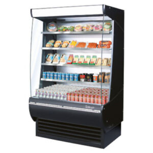 Turbo Air Tom 48dxb n Vertical Open Display Case Extra Deep Cooler