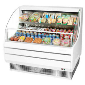 Turbo Air Tom 50l Open Display Case Cooler Low Profile