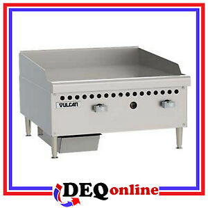 Vulcan Vcrg24 m Restaurant Series Gas Griddle 24 W X 20 1 2 D Griddle Plate