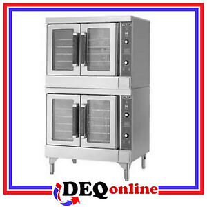 Vulcan Vc44gd Double Deck Gas Convection Oven Stainless Steel natural Or Lp