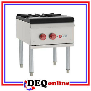 Wolf Wspr1 Single Section Stock Pot Stove Range 18 X 24 5 Ng lp