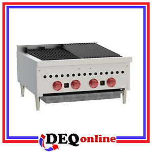 Wolf Scb25 Countertop Gas Charbroiler 25 1 4 Wide Stainless Steel Ng Or Lp