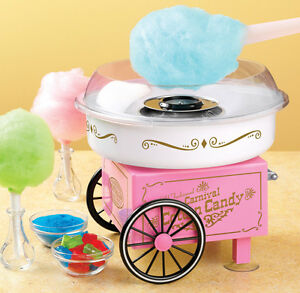 Nostalgia Pcm305 Vintage Collection Hard And Sugar free Cotton Candy Maker New