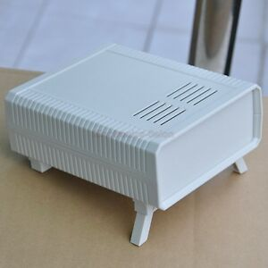Hq Instrumentation Abs Project Enclosure Box Case White 260x220x80mm Plastic