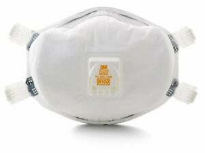 3m N100 Particulate Respirator 8233 Case Of 20 Masks