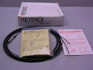 Keyence Fu 18 Transmissive Fiber Optic Unit Thrubeam 90 Degree