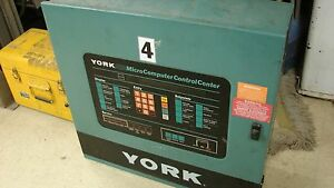York Chiller Control Cabinet