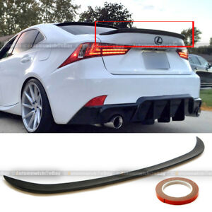 For 14 16 Is250 Is350 Jdm Style Poly Urethane Rear Trunk Wing Spoiler Add On