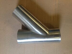 New 3 Stainless Steel Lateral Wye