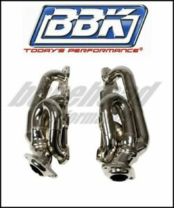 Bbk Performance 4014 Chrome Short Tube Headers 09 18 Dodge Ram 1500 Hemi 5 7l
