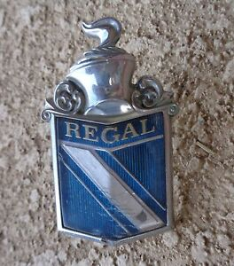 73 74 Buick Regal Original Header Panel Ornament Emblem