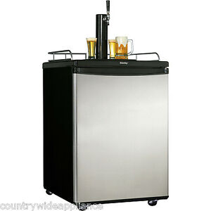 Danby 5 8 Cuft Beer Kegerator Keg Cooler Holds 1 2 Keg Of Beer Dkc5811bsl