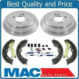 Fits 06 11 Rio 07 11 Accent 2 Brake Drums Shoes Brake Springs
