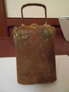 Old Antique Cow Bell Looks To Be Handmade
